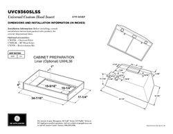 UVC9360SLSS - Hood - $799
