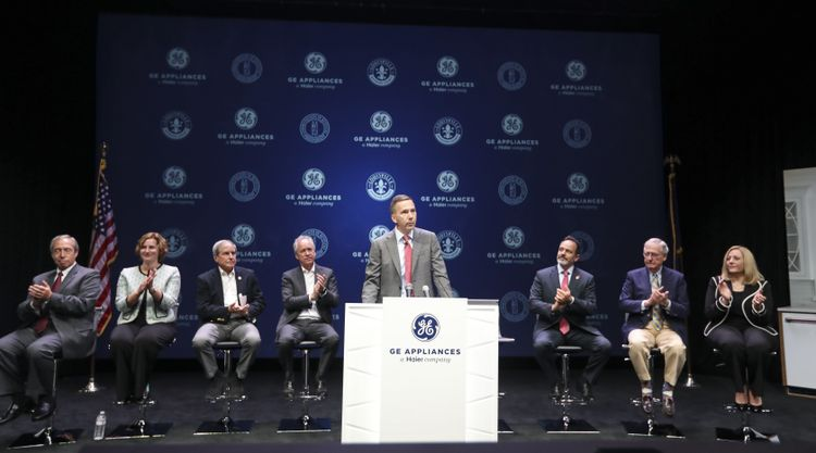 GE Appliances Press Conference