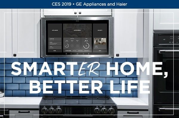CES 2019 - GE Appliances and Haier Banner