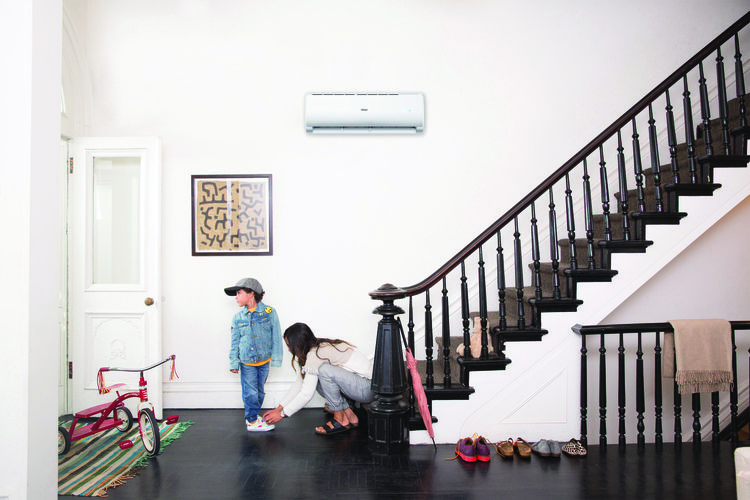 Haier Ductless at Home