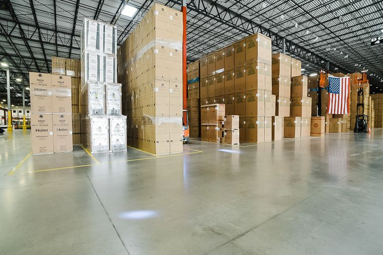 GE APPLIANCES' AREA DISTRIBUTION CENTER IN DENVER