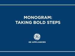 Monogram is Taking Bold Steps