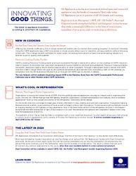 Innovating Good Things Newsletter