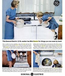 GE Appliances Print Ad - 1950s