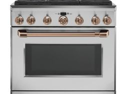 Stainless All Gas Range_Brushed Copper