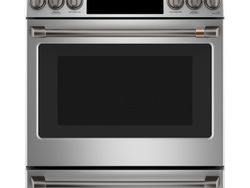 Stainless Convection Range_Brushed Black
