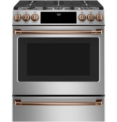 Stainless Convection Range_Brushed Copper