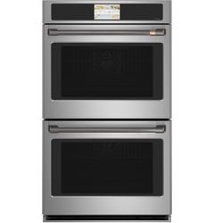 Stainless Double Wall Oven_Brushed Black