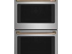Stainless Double Wall Oven_Brushed Bronze