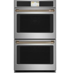 Stainless Double Wall Oven_Brushed Copper