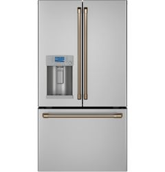 Stainless French Door Hot Water_Brushed Bronze