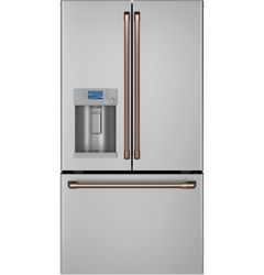 Stainless French Door Hot Water_Brushed Copper