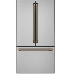 Stainless French Door_Brushed Bronze