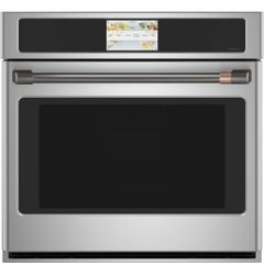 Stainless Single Wall Oven_Brushed Black