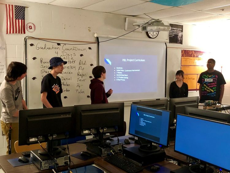 Virtual Classroom Experience with Students