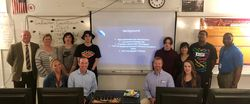 Top Virtual Classroom Students Present to GE Appliances Executives