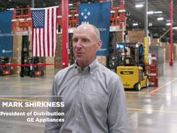 Smart Distribution Video with Mark Shirkness vice president of distribution for GE Appliances