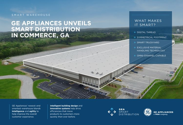 Infographic: Smart Distribution in Commerce, Georgia