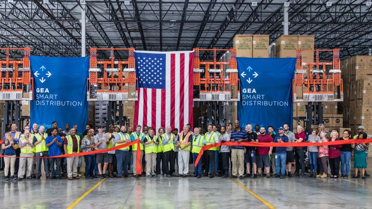 Ribbon Cutting for GE Appliances Smart Distribution Center in Jacksonville, FL