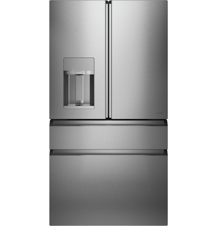 CAFÉ Modern Glass Four-Door Refrigerator Exterior, to be Manufactured at GE Appliance Park as Part of Multi-Million Investment, Creating 260 New Jobs