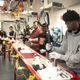 Doss Students Work on the Mock Assembly Line
