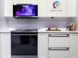 GE Appliances Next Gen Kitchen Hub Micro with Artificial Intelligence and Object Recognition at CES 2020