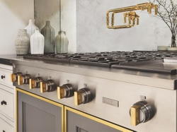 Monogram Statement Range with Brass Detailing