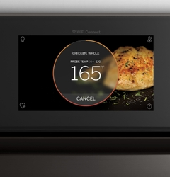 GE Profile 9000 Series Wall Oven with In-Oven Camera Brilliant Touch Display Air Fry and Precision Cooking