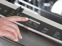 GE Profile Smart Dishwasher with Twin Turbo Dry Boost, Active Flood Protection and hidden controls