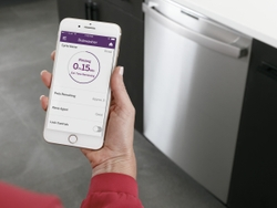 GE Profile WiFi Connect: Monitor cycle status, check rinse aid levels and automatically reorder detergent using your mobile device