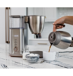 The CAFÉ™ Specialty Drip Coffee Maker is Certified by the Specialty Coffee Association to Brew a