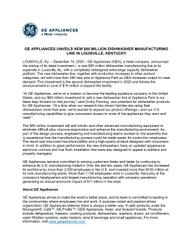 12-14-20 Final GEA Dishwasher press release