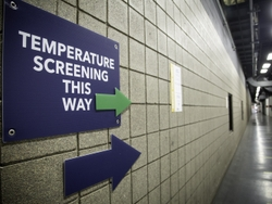 Temperature Screening This Way at a GEA Plant