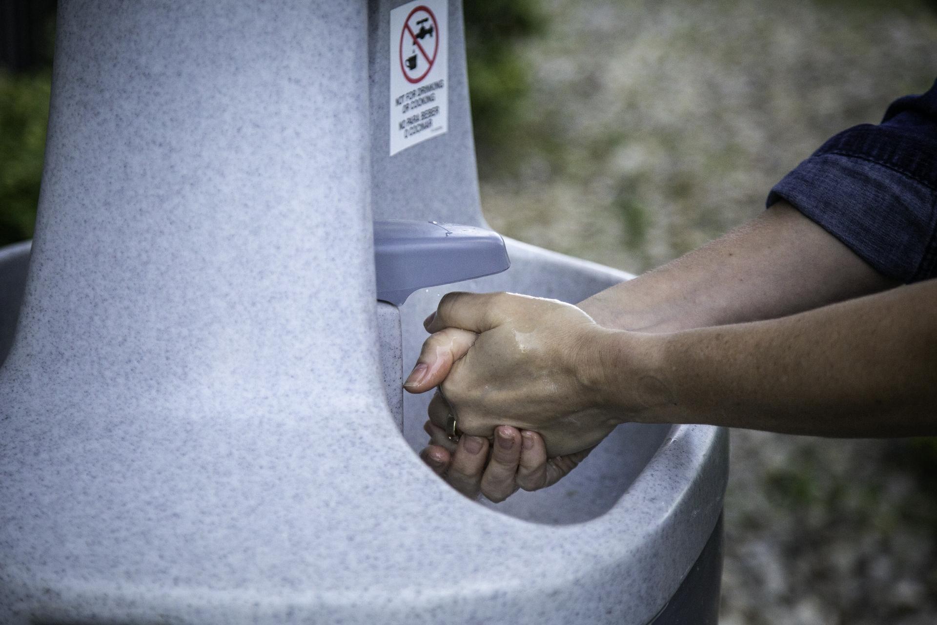 Handwashing Station at a GEA Plant