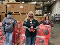 Roper Team Receives Generators After Storms