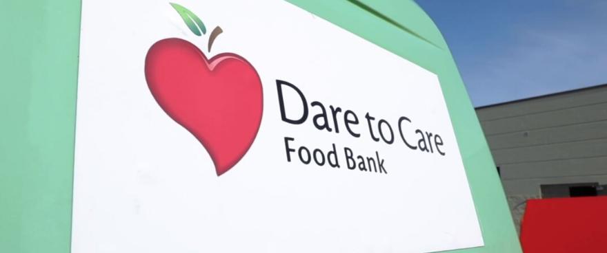 Dare to Care donation