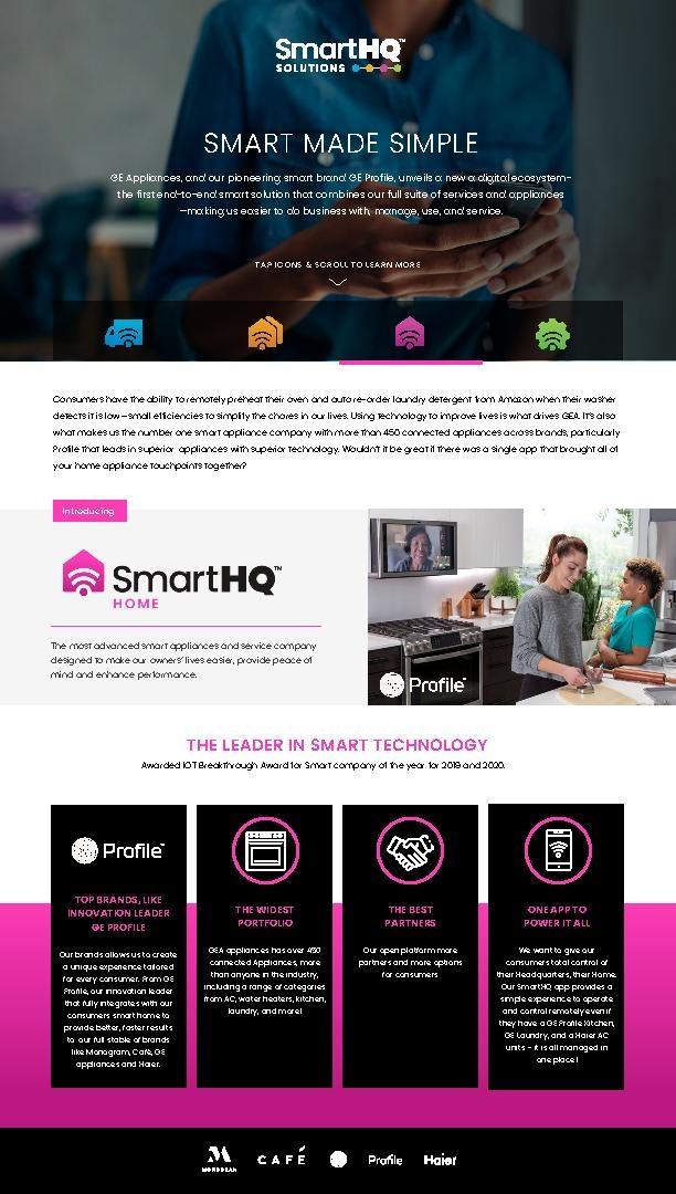 SmartHQ Interactive Fact Sheet