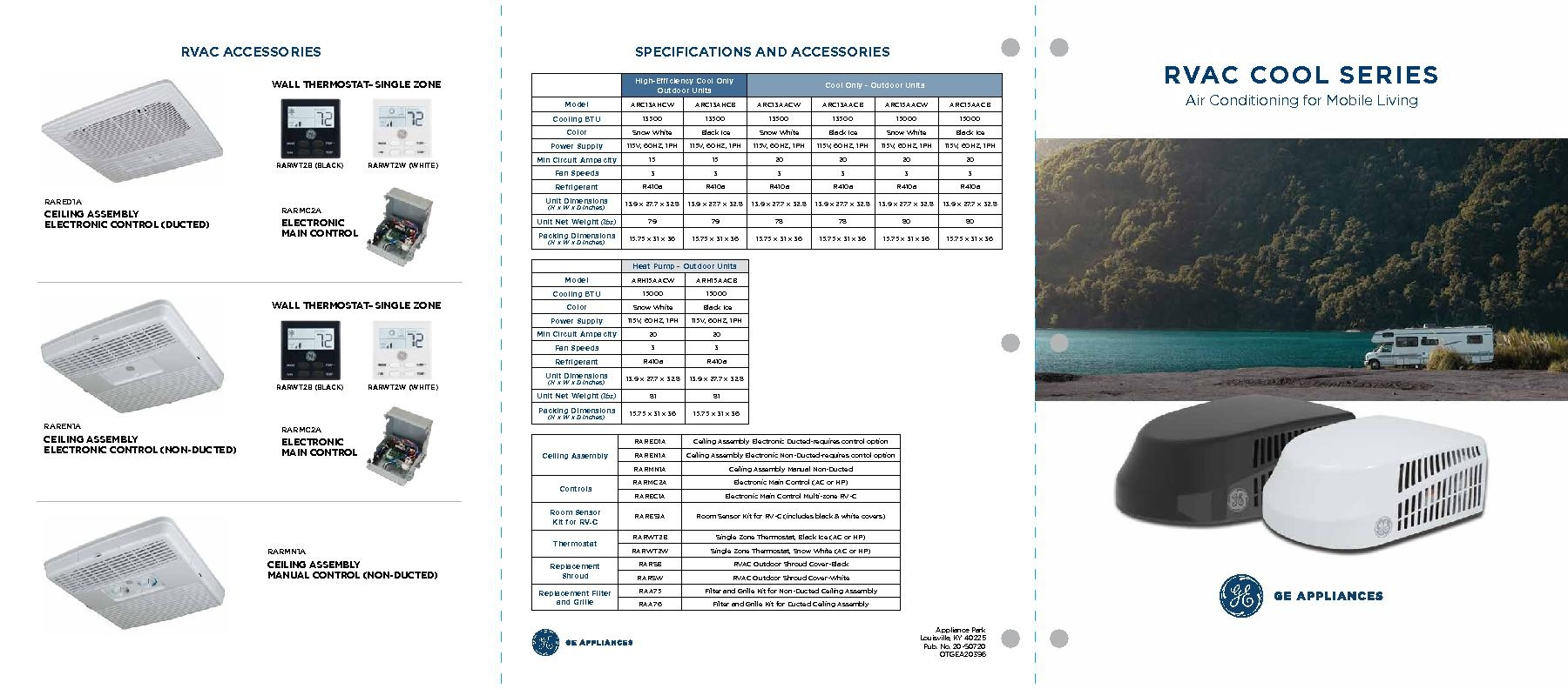 GE Appliances RVAC Cool Series Brochure