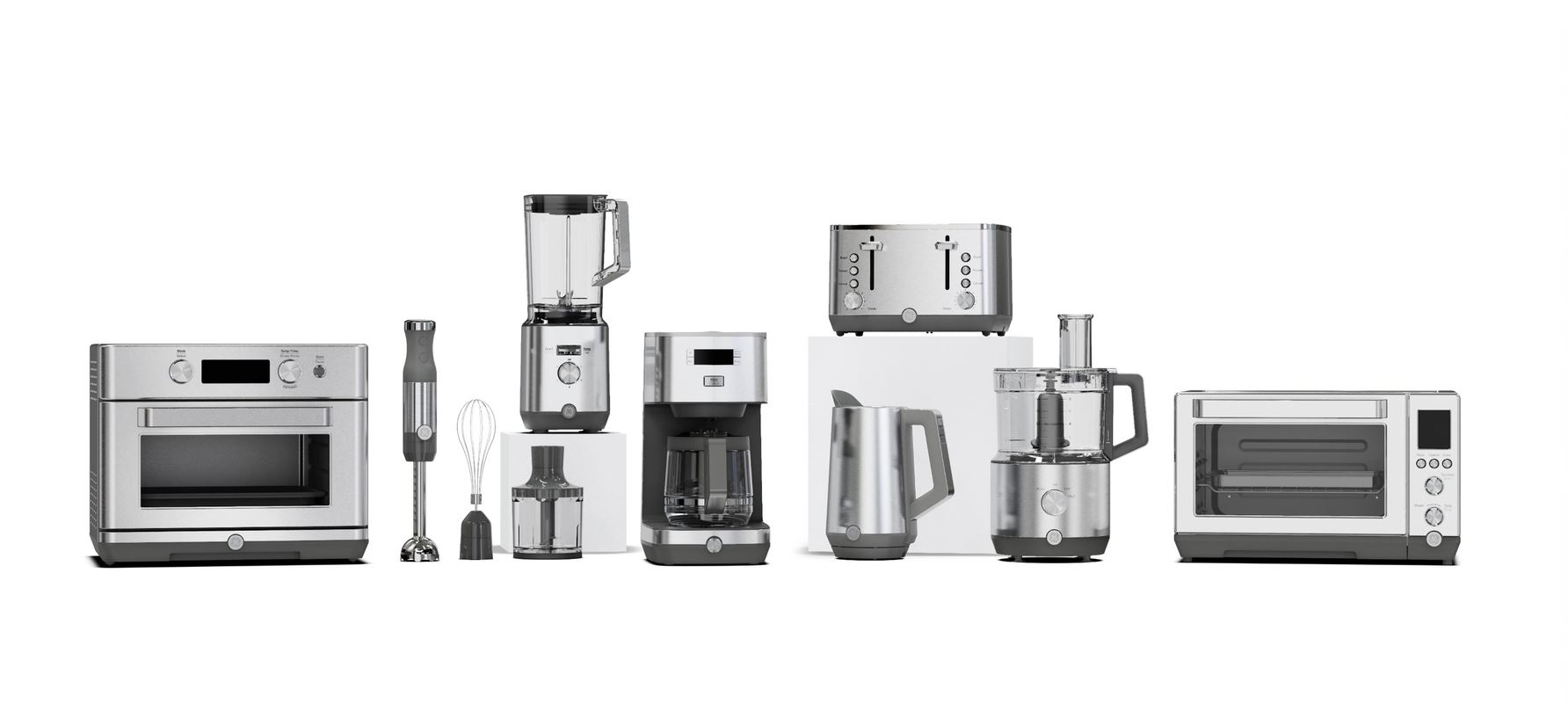 Line-Up of New GE-branded Small Appliances