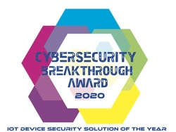 2020 CyberSecurity Breakthrough Awards Badge
