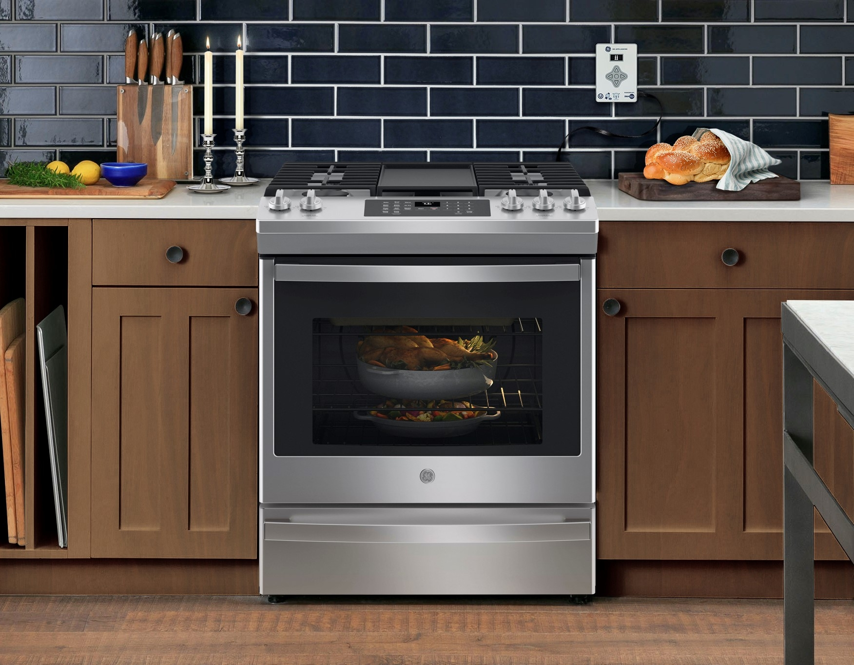 GE Appliances a Haier company in partnership with ZMAN Technologies is now offering ovens and refrigerators that are 100 Kosher-certified when used in conjunction with the Shabbos Keeper.