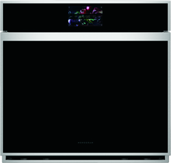 Monogram Minimalist X-Series Wall Oven with voice-to-open technology