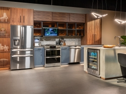 GE Profile Solution Central Kitchen at KBIS 2021