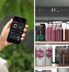 CAFÉ Undercounter Beverage Center with built-in WiFi