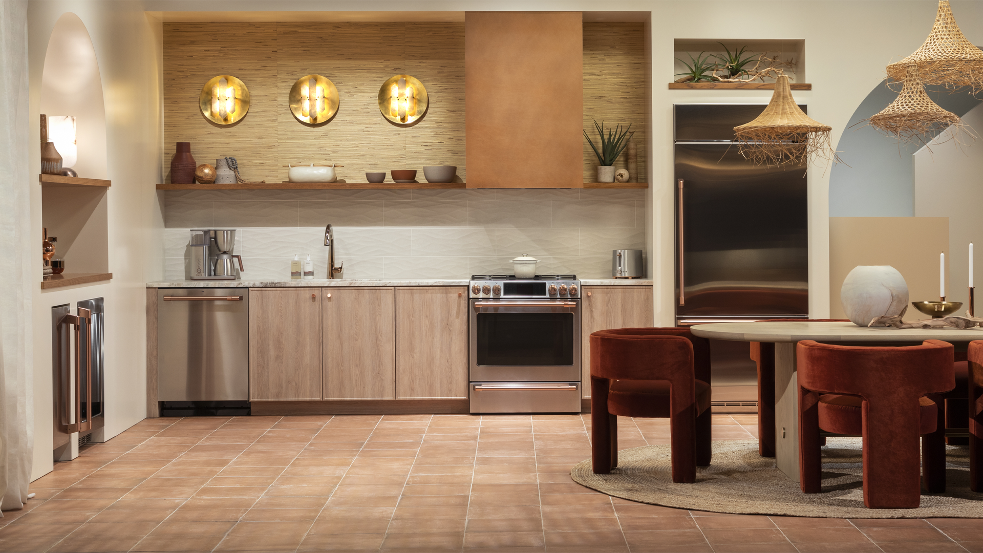CAFÉ Desert Daydream Kitchen: KBIS 2021