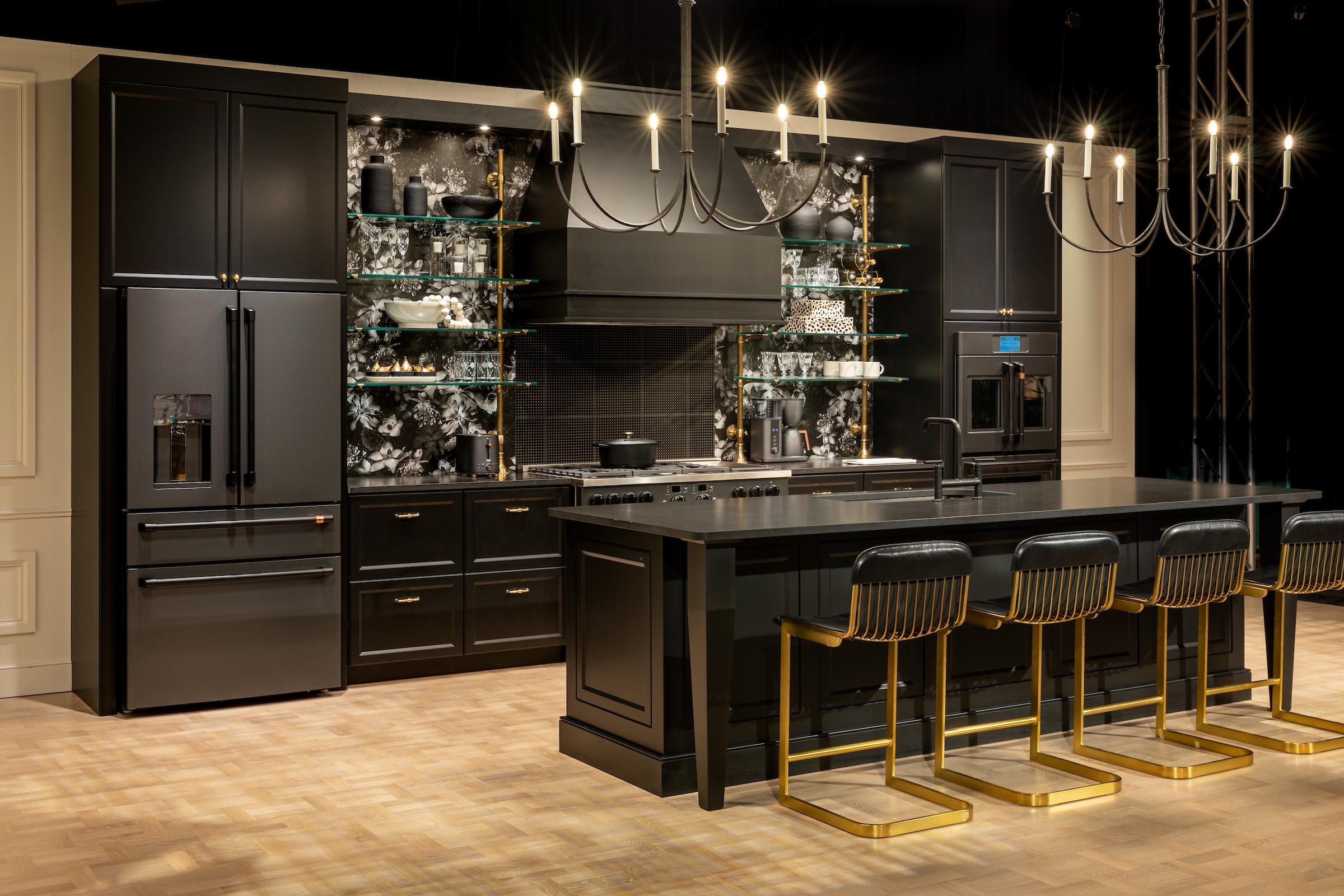 CAFE Midnight Luxe Kitchen KBIS 2021