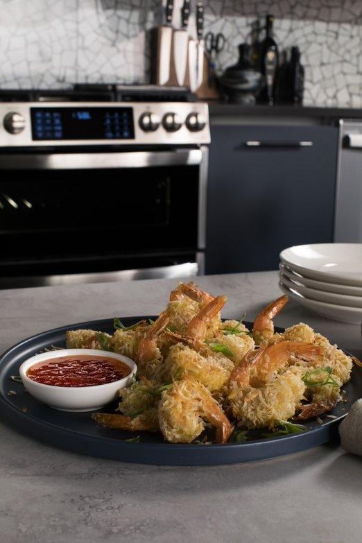 #AirFryApril-- Air Fried Coconut Shrimp