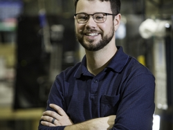 Collie Crawford the first graduate of GE Appliances New Industry 4.0 Development Program.