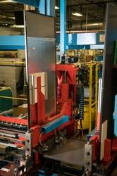 Case fabrication for  4-door refrigerator