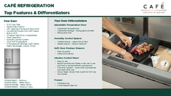 Cafe and Profile Refrigeration Product Information